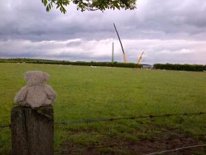 A new wind turbine going up at Stanley, Co. Durham.jpg