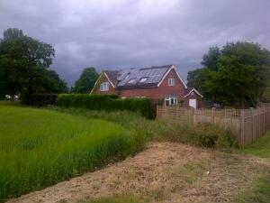 Photovoltaic house